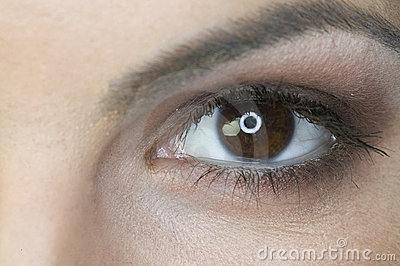 Close up of a woman s eye