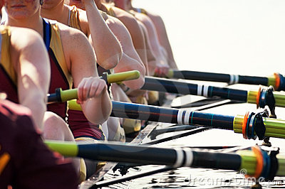 Close up Women s Rowing Team