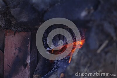 Close Up Of Wood Fire Free Public Domain Cc0 Image
