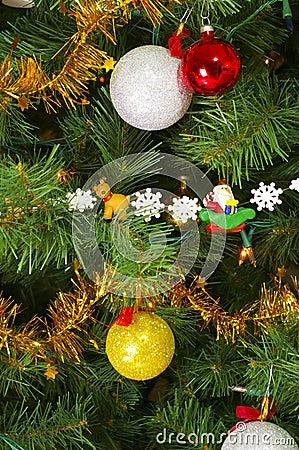 Close up xmas tree III