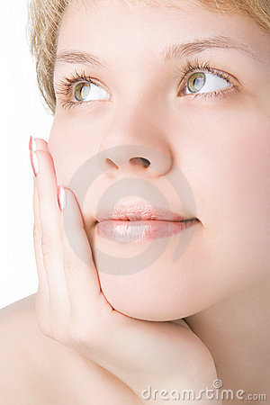 Free Close-ups Face Girl Stock Image - 2156501