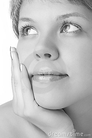 Free Close-ups Face Girl Stock Photography - 2349662