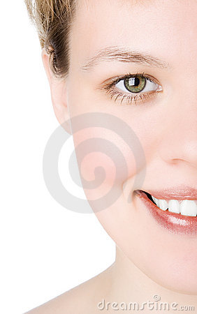 Free Close-ups Half Face Royalty Free Stock Photography - 2156557