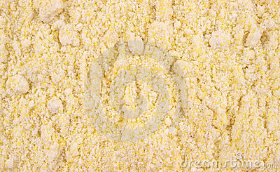 Close view of corn muffin mix