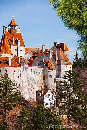 Free Close View Of Bran Castle (Dracula Castle) Royalty Free Stock Image - 42653956