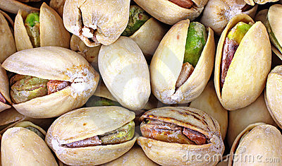 Close View Pistachio Nuts