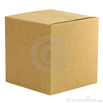 Closed Box Royalty Free Stock Image - Image: 153096