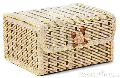 Closed casket for storage of jewelry