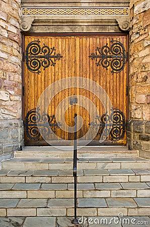Free Closed Church Doors Stock Images - 4924854