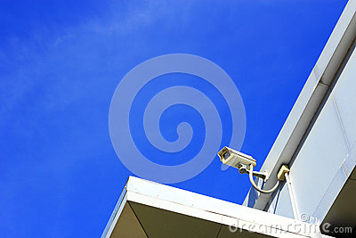 Closed  circuit  television surveillance  camera