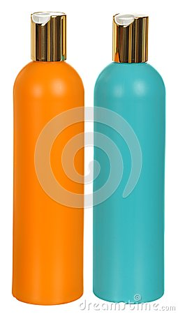 Free Closed Cosmetic Or Hygiene Plastic Bottle Of Gel Royalty Free Stock Images - 49376849