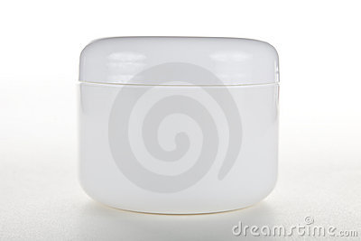 Closed Cream Jar