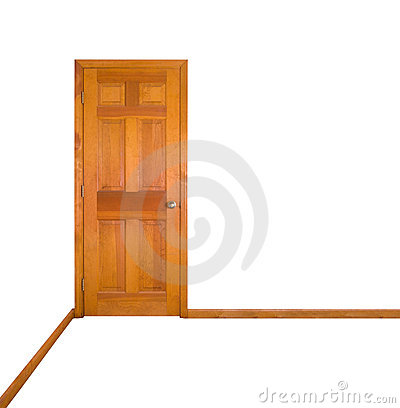 Closed Door (clipping path)