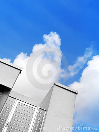 Free Closed Door To Sky Stock Photography - 6097292