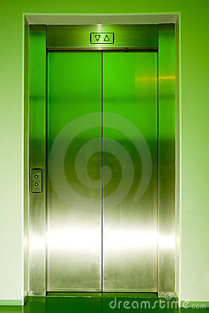 Free Closed Elevator Doors Stock Photography - 2776172
