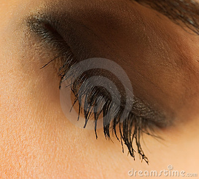 Free Closed Human Eye Royalty Free Stock Photos - 5570918