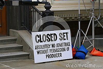 Closed Set movie