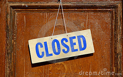 Closed Sign Stock Photos - Image: 6589023
