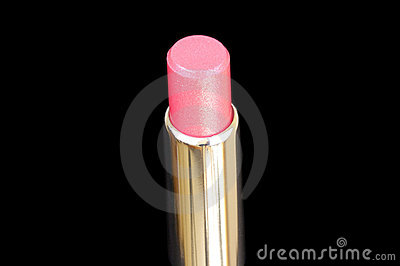 Closed-up lux lipstick isolated on