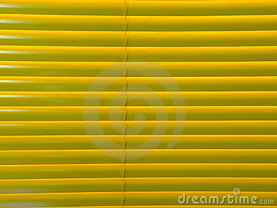 Closed venetian blind background