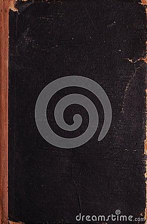 Closed vintage book texture