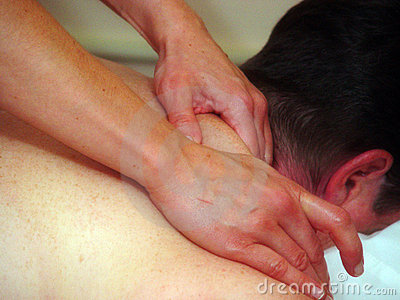 Closen hands upp masseuse s