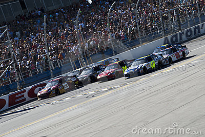 Closest finish in NASCAR history Aaron s 499 Editorial Photography