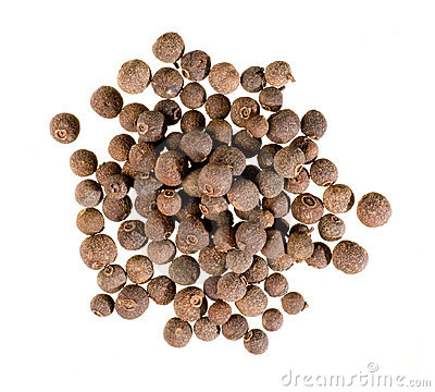 Closeup of allspice