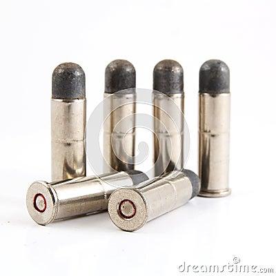 Closeup bullet