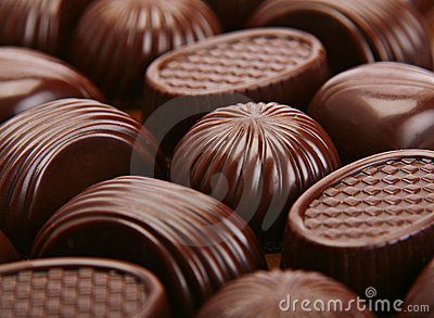 Closeup candy background