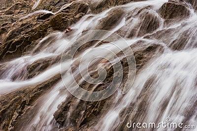 Closeup cascade