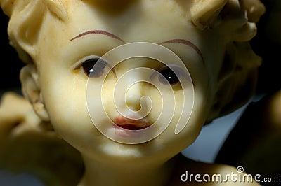 Closeup of Christmas deco, Angel