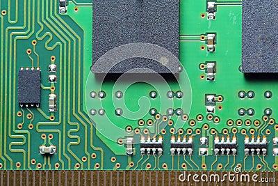 Computer hardware, circuit board.