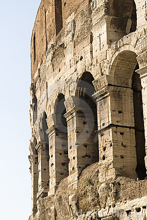 Closeup of Coliseum