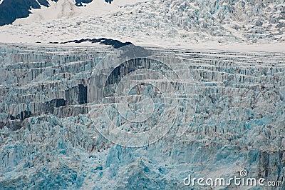 Closeup of fjord