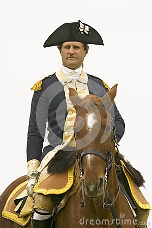 A closeup of General George Editorial Stock Image
