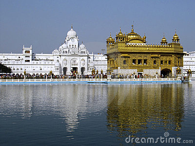 Closeup of the Golden Temple, Amritsar