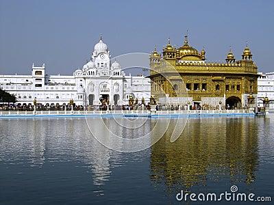 Closeup of the Golden Temple, Amritsar