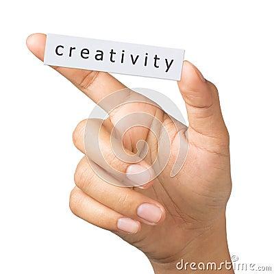 Creativity label