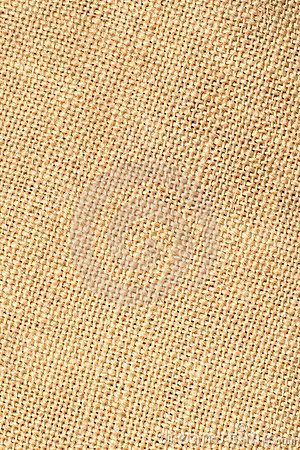 Closeup of linen fabric