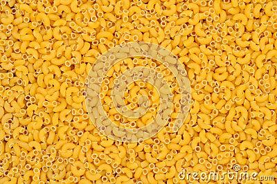 Closeup of Macaroni Noodles