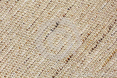Closeup of natural linen texture