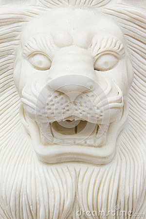 Free Closeup Of A Lion Statue. Vietnam Royalty Free Stock Image - 27340456