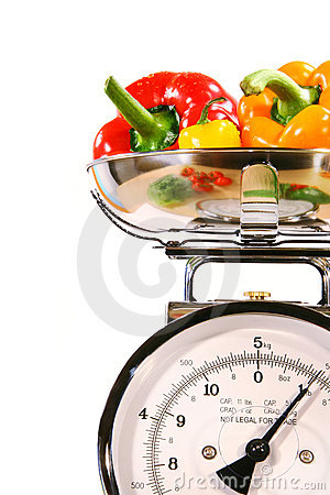 Free Closeup Of Kitchen Scale Stock Images - 2334744