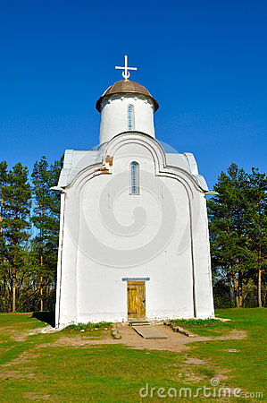 Free Closeup Of Peryn Chapel - Also Known As Church Of The Nativity Of The Theotokos On Peryn Skete In Veliky Novgorod, Russia. Stock Images - 71085364