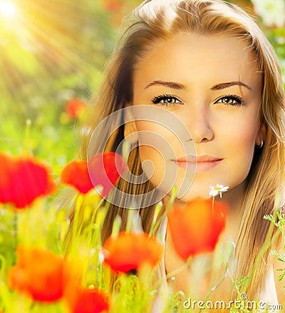 Free Closeup On Beautiful Woman Face Stock Photography - 27714122