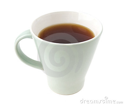 Closeup photo of cup of tea