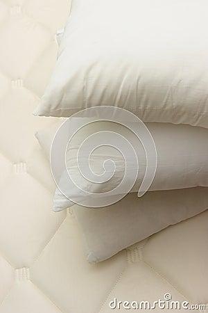Closeup of pillow