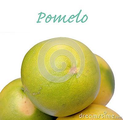 Closeup of pomelo