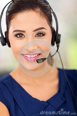 Call centre employee